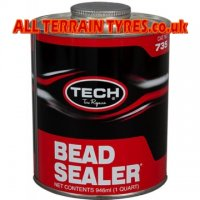 Tech 735 Black Brush-On Bead Sealer (946ml)