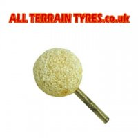 Golf Ball Type Buffing Stone - 6mm Stem