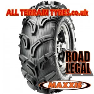 26x11.00-14 52J (6 Ply) Maxxis Zilla MU-02 'E' Marked