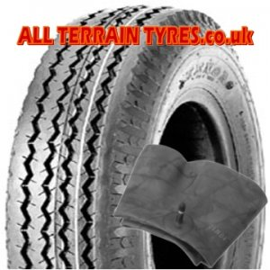 4.80/4.00-8 70M (6 Ply) High Speed Trailer Tyre & Tube