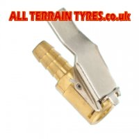 Brass Clip-On Tyre Valve Connector - Standard Valves
