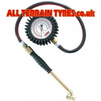 PCL 63mm Dial Tyre Pressure Gauge Twin End Commercial 0-170psi