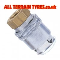Earthmover Large Bore Tyre Valve Connector