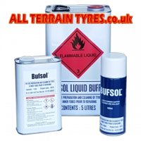 Bufsol Liquid Tyre Buffing Solution - Aerosol (400ml)
