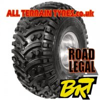 22X10.00-9 39J (4 Ply) BKT AT108 Traction Quad Tyre 'E' Marked