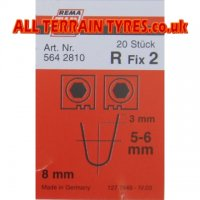 R2 Tip-Top Tyre Regrooving Blades 5-6mm Wide 8mm Deep (20)