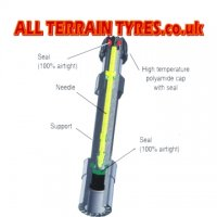 Rigid Plastic Tyre Valve Extension - 150mm