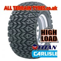 25x10.50-12 4 Ply Carlisle Titan All Trail (713kg)