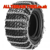 13X5.00-6 Pair of Snow Chains c/w Tensioner & Extender Kits