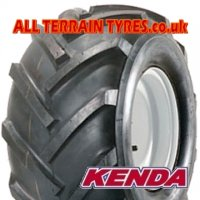 18x9.50-8 4 Ply Kenda K357 Open Centre Tractor Tyre Tubeless