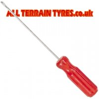 Black Tyre Repair String Straight Grip Closed Eye Needle