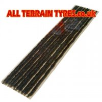 "Black Tubeless Tyre Repair String 12"" (50)"