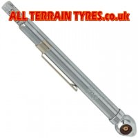 PCL Tyre Pressure Gauge Angled End 6-50psi