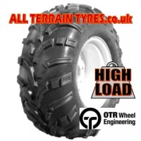 25x11.00-12 6 Ply OTR 440 Mag Fitted With TYRELINER
